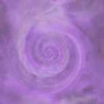 spirale violette sens horaire