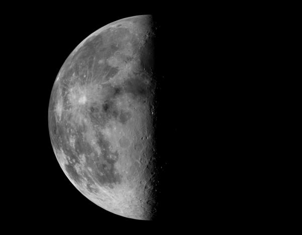 lune dernier quartier