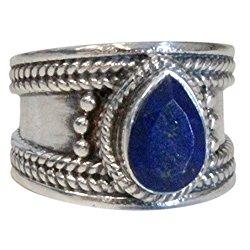 lapis lazuli bague